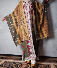 African Fabric Patchwork Cape