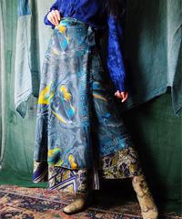 Botanical Wrap Skirt