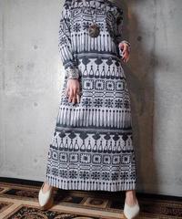 Modern Monotone Dress