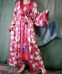 White Rose Satin Gown