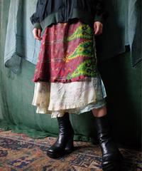 Beautiful Exotic Silk Wrap Skirt