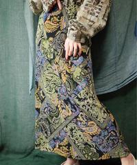 Oriental Paisley Jersey Skirt