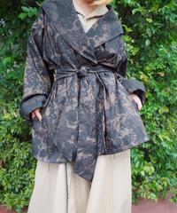 Arabesque Nylon Gown Coat