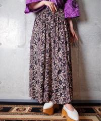 Sunburst India Cotton Skirt