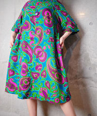 Psychedelic Art Dress from 1970s vintage