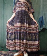 Paisley India Cotton Dress
