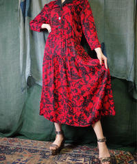 Abstract Rayon Dress