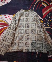 Embroidery Sheer China Shirt