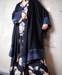 Japonism Drape Gown
