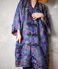 Remake China Buttons Oriental Gown Dress