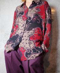 Arabesque Sheer Silk Shirt