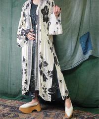Japonism Rayon Gauze HAORI (Cut Off Sleeves/Side Slit)