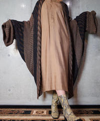 Wavey Cocoon Knit Gown