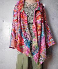Crazy Embroidery Art Jacket