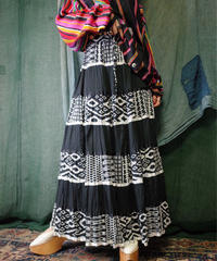 Trival Switch Tiered Skirt