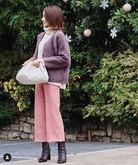 【@chikako.hongoさんご着用・@akko3839さんご着用】E93526 #LOOK Knit[BEATRICE]