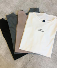 ロゴチュニックロングTシャツ|BEATRICE|E84526