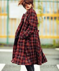 【河北麻友子さんご着用】E53401 #LOOK #DRAMA Coat[BEATRICE]