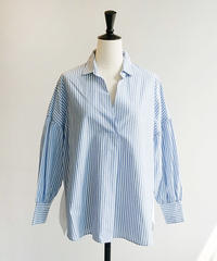 B86113-Stripe|Shirt&Blouse[BRAHMIN]