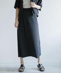 【Sensitive(センシティブ)】【イタリア製素材使用】ストレートスカート|K25302[C+]