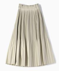 フェイクレザープリーツスカート|B26501
