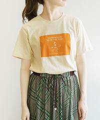 【Ryu Ambe×Mylankaコラボ】ブロックプリントTシャツ|M85318[Mylanka]