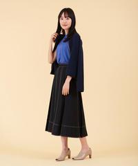 【予約商品】ステッチワークプリーツスカート|B27106