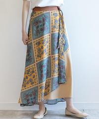 パネルプリントスカート|M25303|[Mylanka]