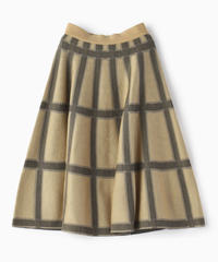チェックニットスカート|BRAHMIN|B96503