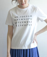 アルファベットロゴTシャツ|K85309[C+]