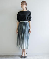 ラメプリーツスカート|BRAHMIN|B96417
