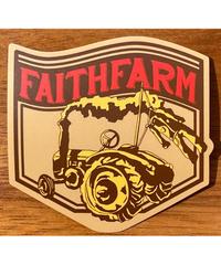 Faith Farm Original Sticker! トラクターTractor