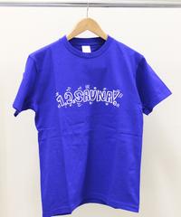 1,2,SAUNA! Tシャツ フィンランドブルー