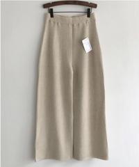 Wool cashmere KnitPants (2color)