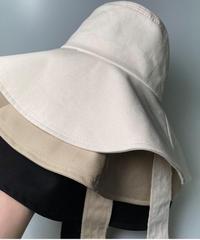 Bucket ribbon HAT (3color)