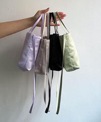 satin mini bag (4color)