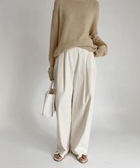 Cotton wide pants (2color/FreeSize)