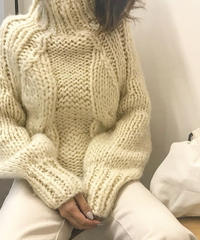 handmade twins knit (2color)