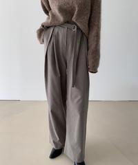 Wool slacks pants  (3color)