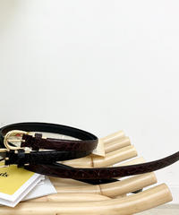 Croco Belt (2Color)