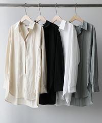 loose side slit shirts (4color)