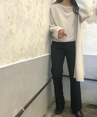 wool twill slacks