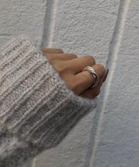 (Silver925)  Ribb ring