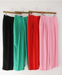 Vivid color pants (4color /S.M size)