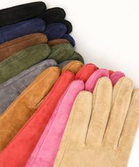 Suede gloves  (9color)