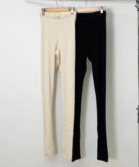 Back slit leggings (2color)