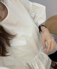 Volume blouse (2color)