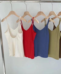 back open cami (7color)