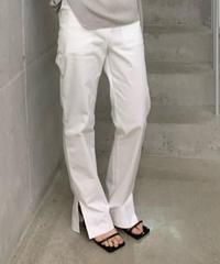 Out sideslit  pants (2color /S.M size)