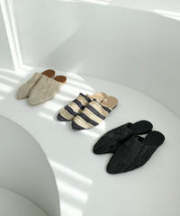 Rattan shoes  (3Color)